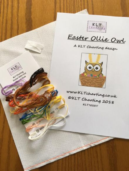 Easter Ollie Owl Full Kit